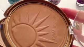 wet n wild cosmetics a review of three color icon bronzers and fergie polish