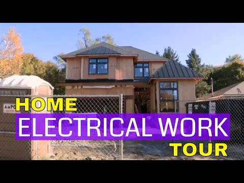 Home Electrical Work Tour | Marc and Mandy Show