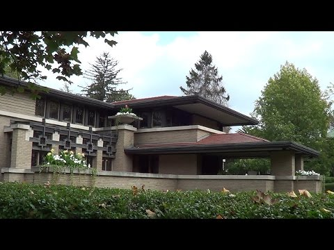 Frank Lloyd Wright - Meyer S May House - REAL USA Ep. 65