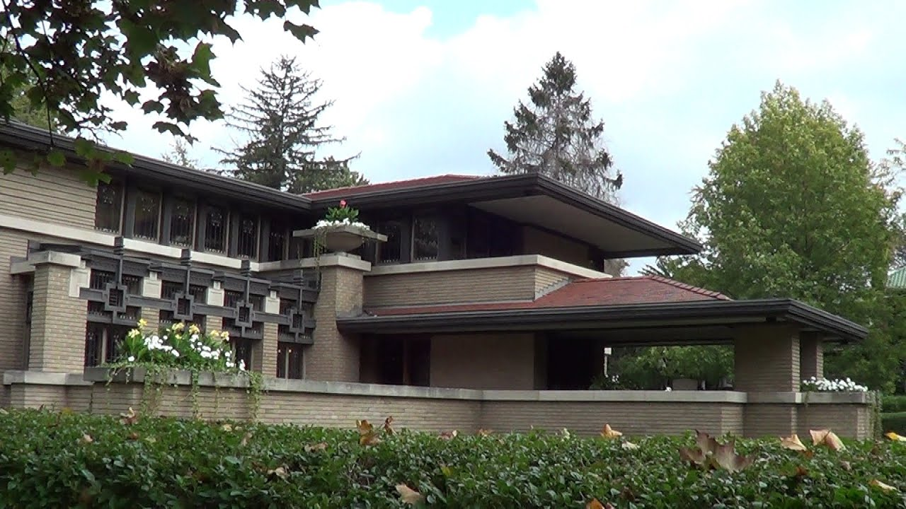 Frank Lloyd Wright Meyer S May House Real Usa Ep 65