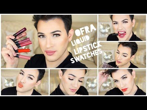 Ofra Cosmetics Liquid Lipstick Swatches! | MannyMua