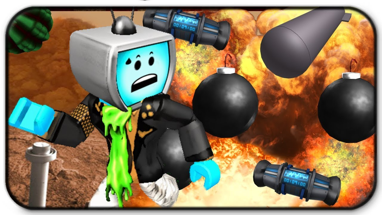 Run Bomb Roblox - Roblox Super Bomb Survival Running From Explosions Like A Pro