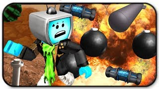 Roblox Super Bomb Survival - Running From Explosions Like A Pro
