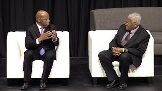 John Lewis & James Lawson in MLK50 Evening of Storytelling, April 4, 2018