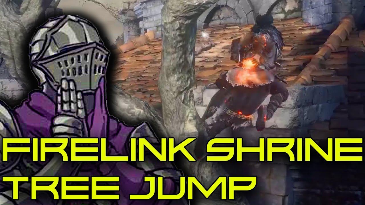 Dark Souls 3 Tree Jump In Firelink Shrine 2021 Edition Youtube