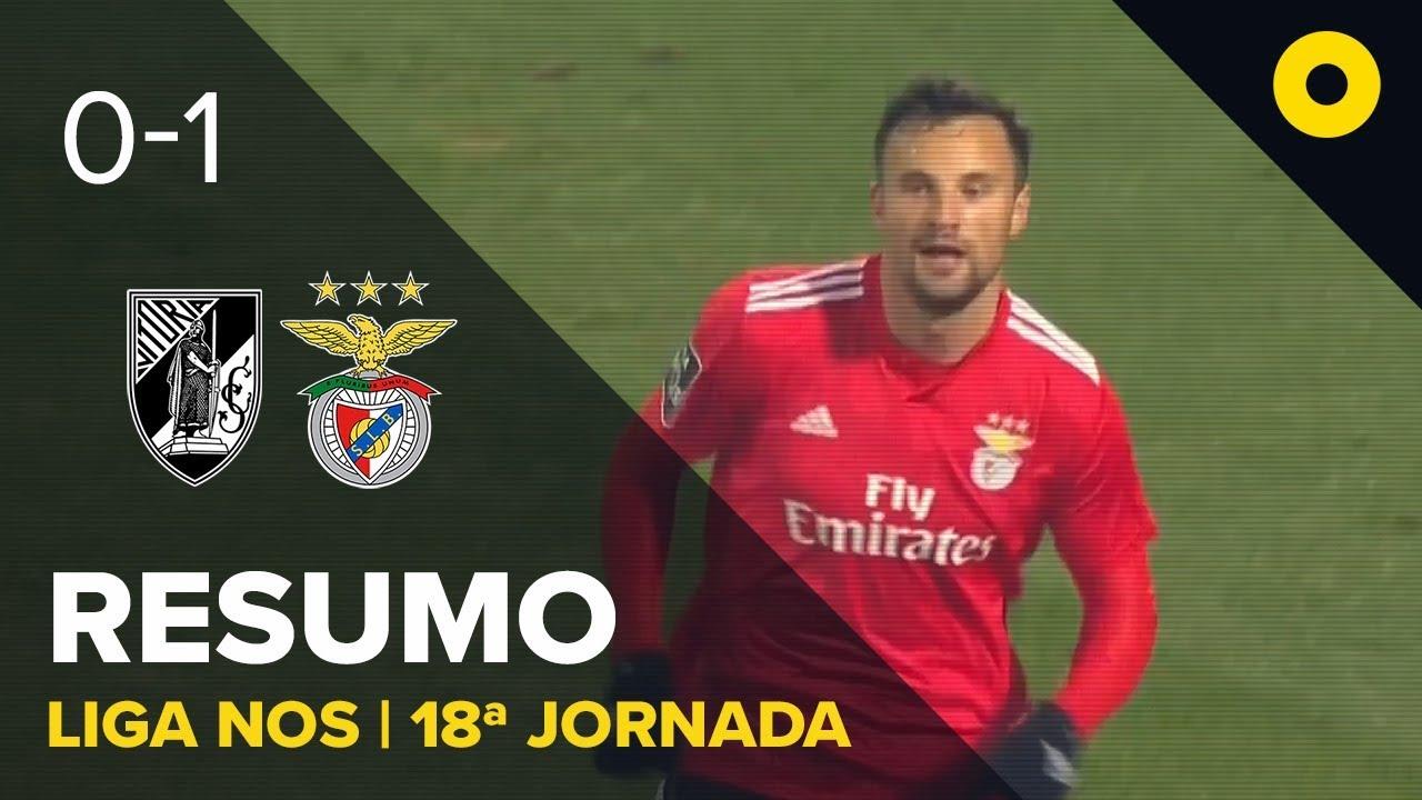 Resumo Benfica: V. Guimarães 0-1 Benfica - Resumo