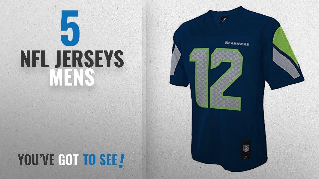 huge selection of 11727 aeb84 Top 10 NFL Jerseys Mens [2018]: 12th Fan Seattle Seahawks #12 Man Navy Blue  NFL Youth 2016-17