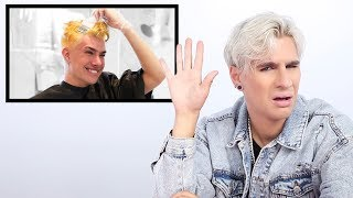 Download Hairdresser Reacts to James Charles Bleaching His Hair Mp3 and Videos