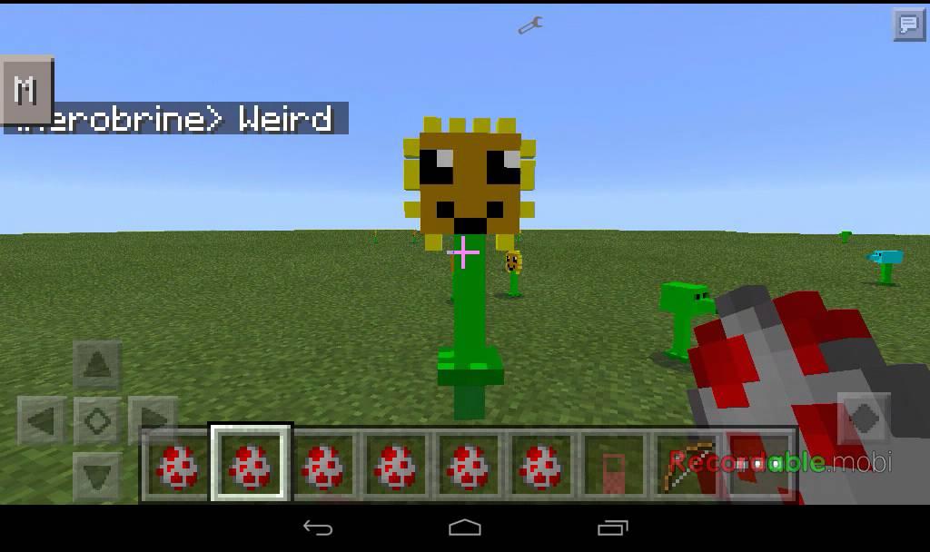 Mod Plants Vs Minecraft Zombies