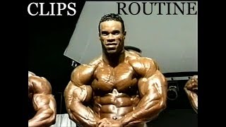 Kevin Levrone Rare 255 pds. Ripped (Clips & Routine)