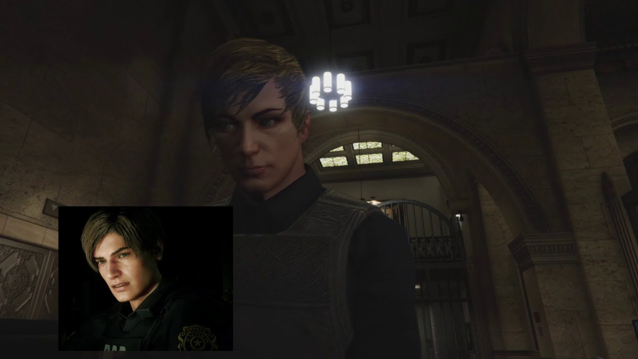 Leon S Kennedy Re2 Remake Cosplay Gta V Youtube