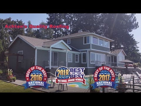 Achtens Roofing 2018 Named Best Of The Best Again Hd Youtube