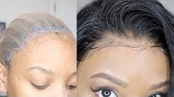 How To MELT That Frontal + Back Lace | Stocking Cap Method | Hairvivi