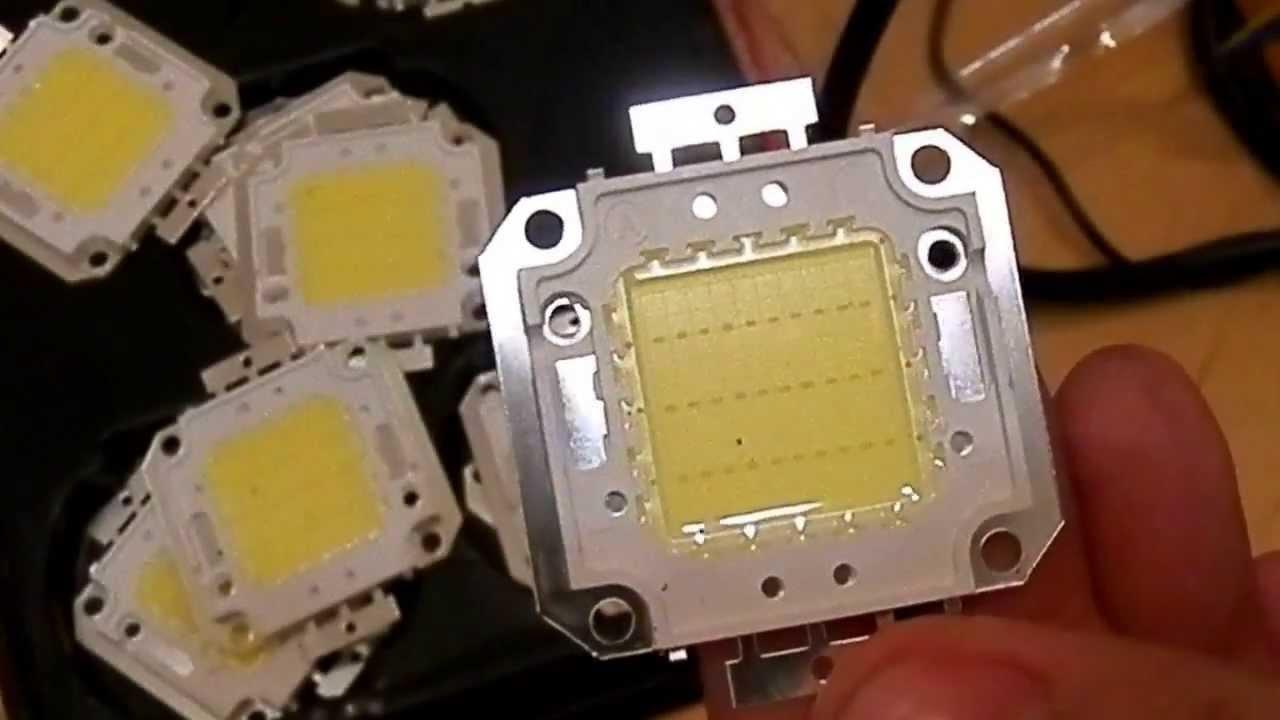 Светодиодные матрицы с драйверами. - YouTube