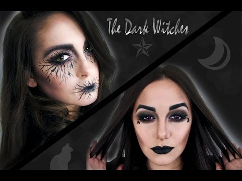 The Dark Witch - Arbonne Halloween Tutorial - YouTube