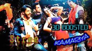 Kamariya    3d Boosted    Stree    Nora Fatehi