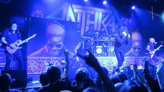 ANTHRAX - club Roxy, Prague - 25. 11. 2018