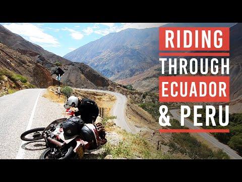 Alaska to Argentina on a Honda 90 episode 15 - Peru and Ecuador