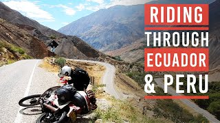 Alaska to Argentina on a Honda 90 episode 15 - Peru and Ecuador