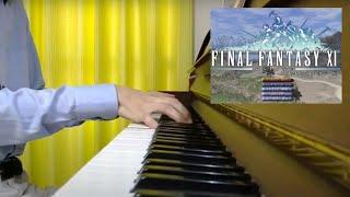 """FF11 """"ヴァナディール・マーチ(Vana'diel March)""""  ピアノ演奏  FFXI Piano"""