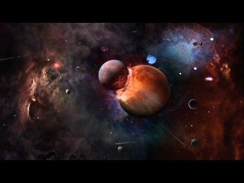 See How Planets Are Born in the Midst of a Demolition Derby