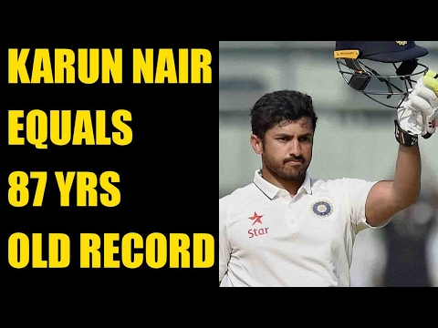 Karun Nair only 4th batsman to be dropped after triple ton|Oneindia News