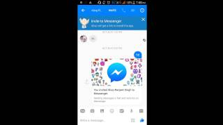 how to chat secretly on messenger