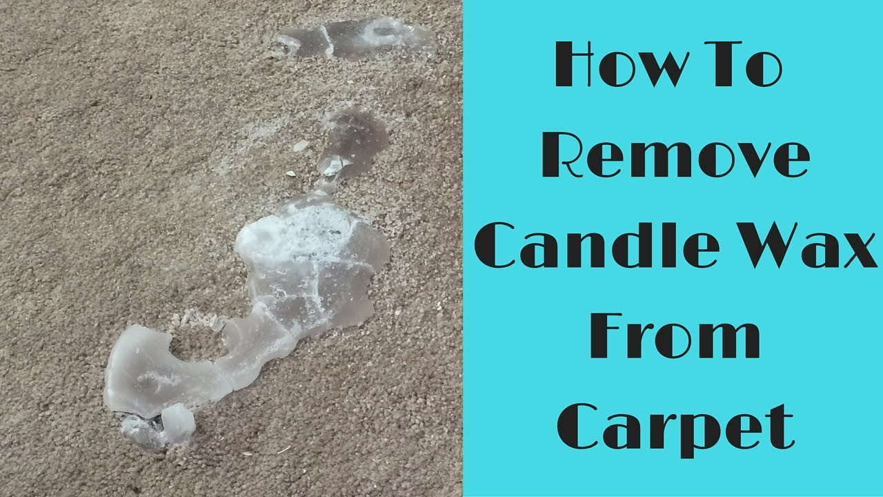 How to Remove Candle Wax from Carpet - YouTube