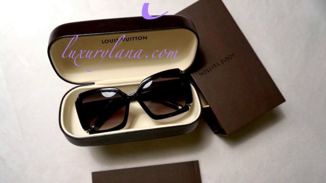 6cb932bd791b Louis Vuitton Hortensia Sunglasses - YouTube