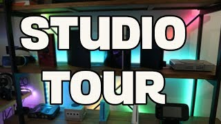 Updated Studio Tour + New Upcoming PC Build | ArrowZoom | Cougar Conquer Vlog |