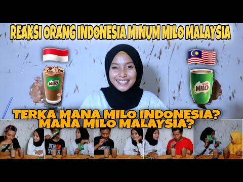 GAME TEBAK RASA MILO MALAYSIA VS MILO INDONESIA