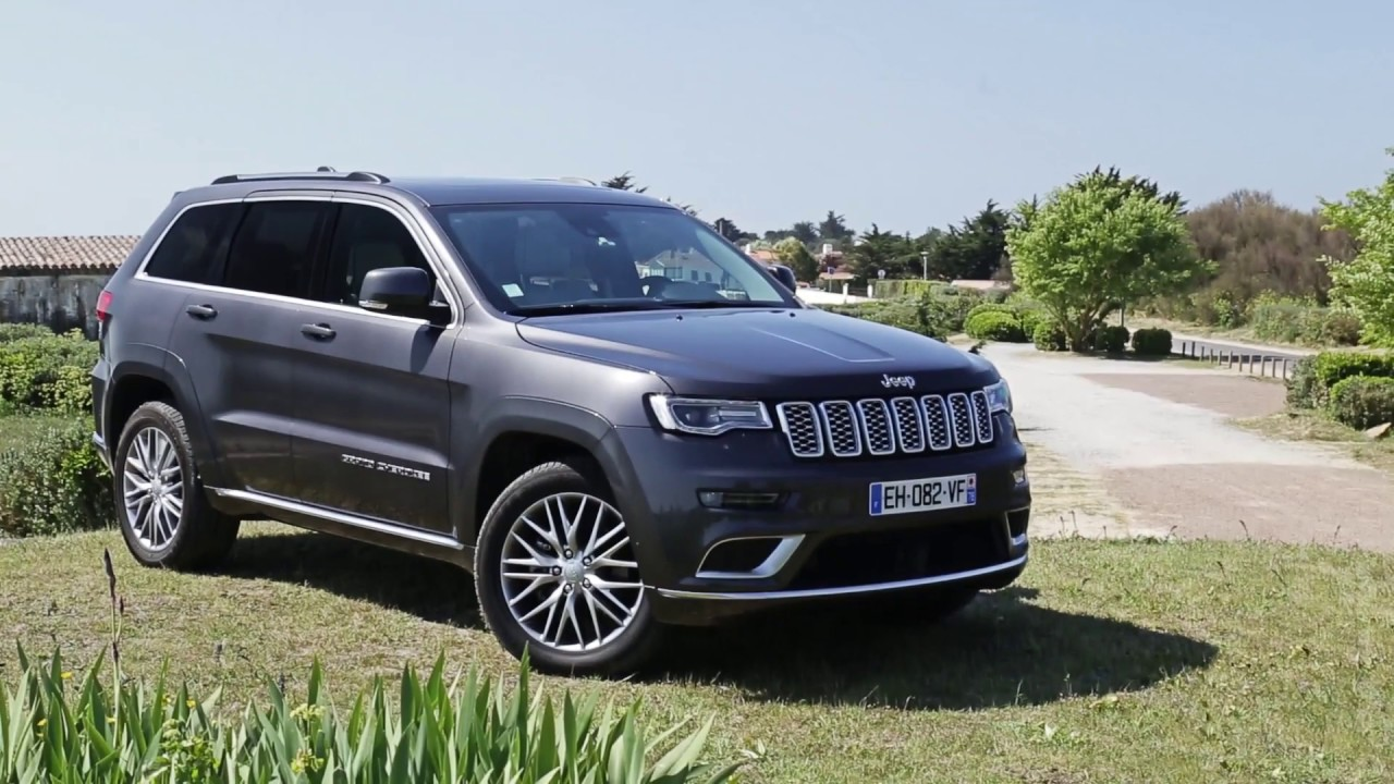 essai jeep grand cherokee v6 3 0 crd 250ch multijet summit signature youtube. Black Bedroom Furniture Sets. Home Design Ideas