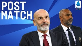 Milan 2-2 Lecce | Pioli & Liverani Post Match Press Conference | Serie A