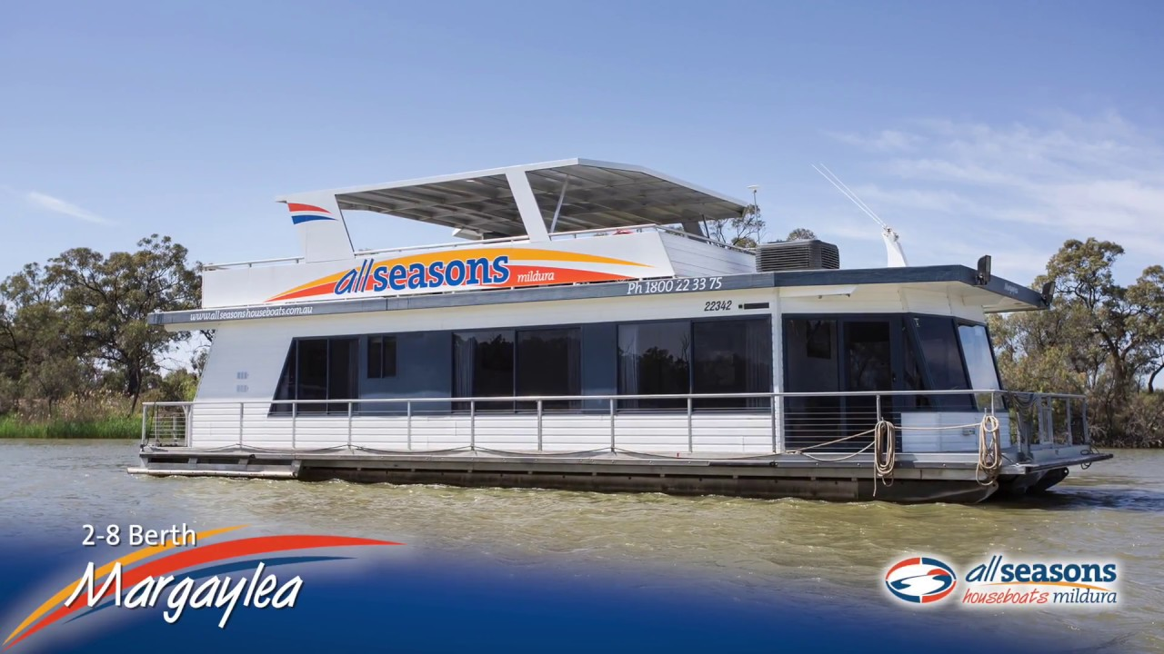 Official website | Margaylea Houseboat 2-8 berth | All Seasons Houseboats
