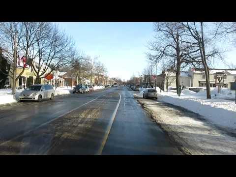 DRIVING THROUGH OLD TOWN - Niagara-on-the-Lake, Ontario