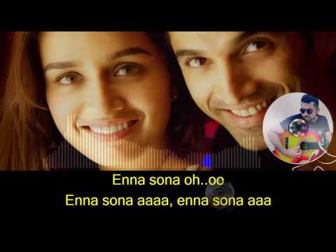 Enna Sona karaoke with synced lyrics