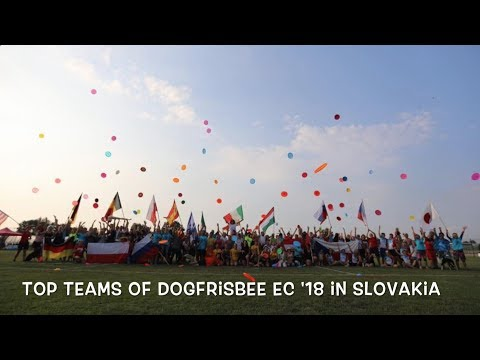Dogfrisbee European Championhip 2018   Top Teams