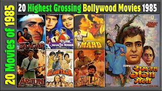 Top 20 Bollywood Movies Of 1985   Hit or Flop   1985 की बेहतरीन फिल्में   with Box Office Collection
