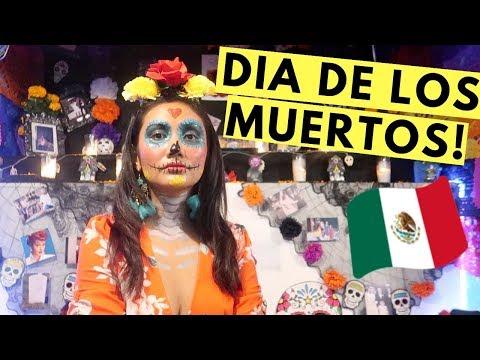 My DIA DE LOS MUERTOS Experience In MEXICO! (Day Of The Dead)