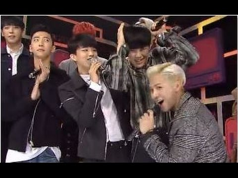BAP & MC JACKSON GOT7 - INTERACTION  (SBS INKIGAYO)