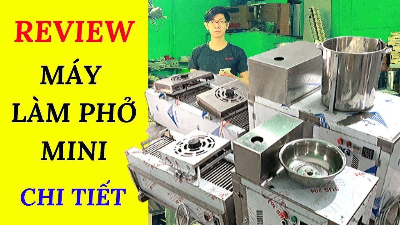 Review Máy Làm Bánh Phở Mini Chi Tiết | Fresh Rice Noodles 9in1 |Trùm Phở