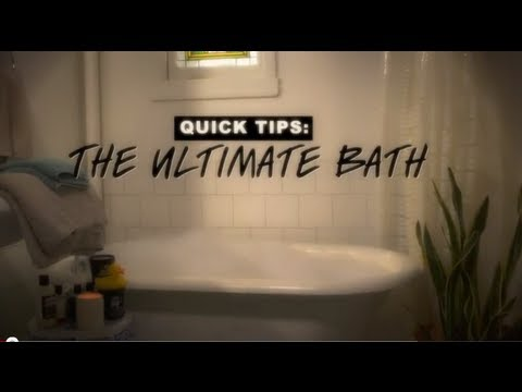 lush quick tips drawing the ultimate bath youtube