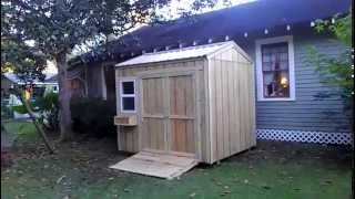8x10 Garden Shed - Shed Plans - Stout Sheds Llc