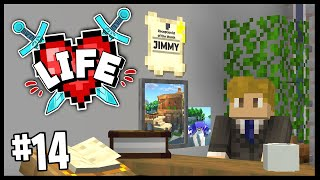 RECEPTIONIST OF THE MONTH!! | Minecraft X Life SMP | #14