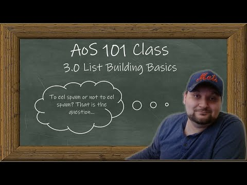 AoS 101 — Age of Sigmar 3rd Edition List Building Basics