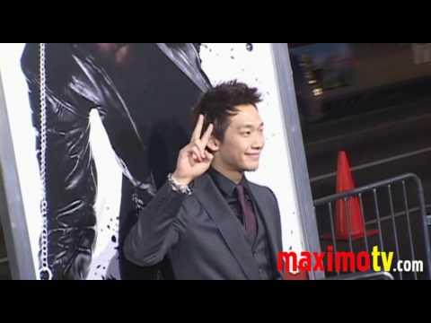 Korean Singer Rain Bi At Ninja Assassin Los Angeles Premiere Red
