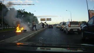 Смертельное ДТП в Питере - Fatal Road Accident In St  Petersburg