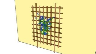 How To Build Garden Trellis