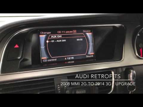 Audi A5 MMI 2G To 3G+ Retrofit