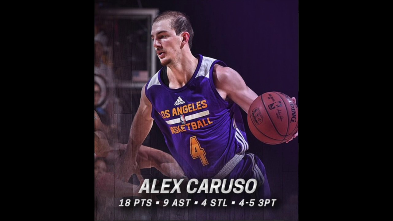 Lakers guard Alex Caruso found Las Vegas Summer League success by not backing down